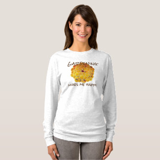 Golden Chrysanthemum Garden Happiness T-Shirt