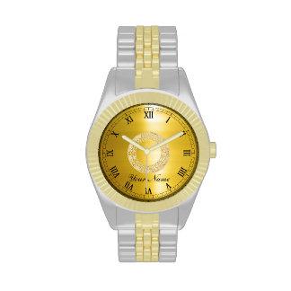 Golden Circle Wrist Watches