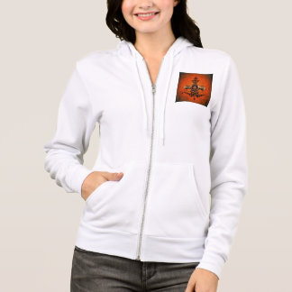 Golden clef on a awesome button hoodie