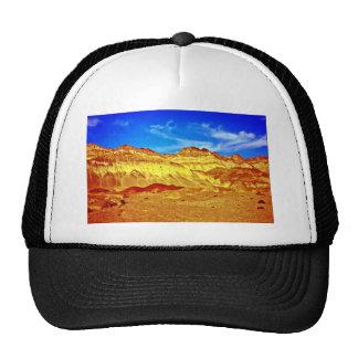 Golden Cliffs And Blue Sky Trucker Hats