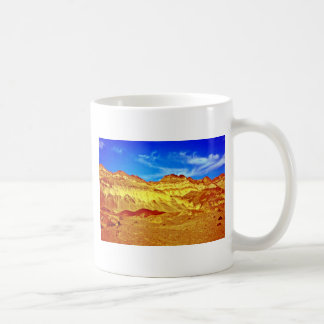 Golden Cliffs And Blue Sky Coffee Mug