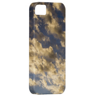Golden Clouds in Sky iPhone Case Barely There iPhone 5 Case