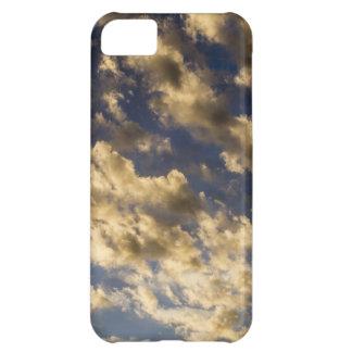 Golden Clouds in Sky iPhone Case iPhone 5C Case