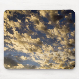 Golden Clouds in Sky Mousepad