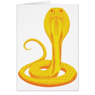 GOLDEN COBRA CARD