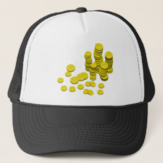 Golden Coins Trucker Hat