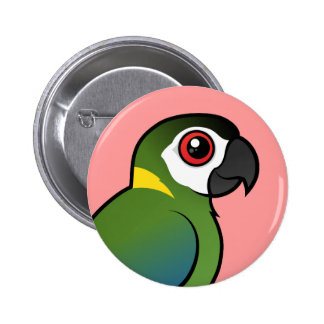 Golden-collared Macaw Button