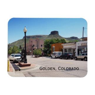 Golden Colorado Magnet