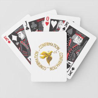 Golden Confirmation and Holy Spirit Card Decks