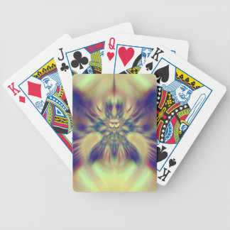 Golden Confusion Fractal Bicycle Playing Cards