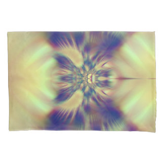 Golden Confusion Fractal Pillowcase
