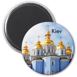 Golden copes of in cathedral in Kiev, Kiev Magnet