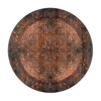 Golden Copper Shimmer Cutting Board