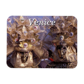 Golden Costumes - Carnival of Venice, Italy Magnet