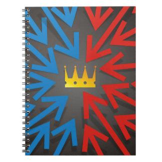 Golden crown notebooks
