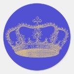 Golden Crown Sticker