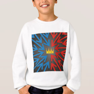 Golden crown sweatshirt