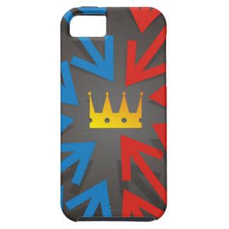 Golden crown tough iPhone 5 case