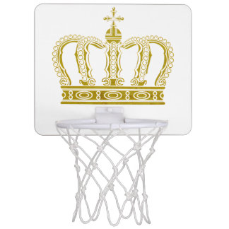 Golden Crown + your ideas Mini Basketball Hoop