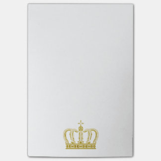 Golden Crown + your ideas Post-it® Notes