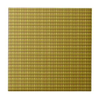 Golden CRYSTAL Template Small Square Tile
