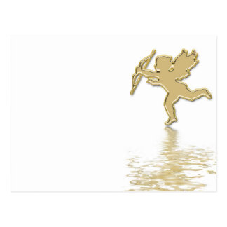 golden cupid postcard