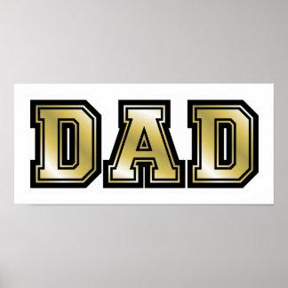 Golden Dad Poster