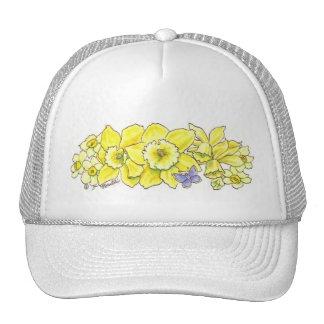 Golden Daffodil Hat