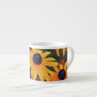 Golden Daisies Flower-lover's Espresso Coffee Mug Espresso Mug