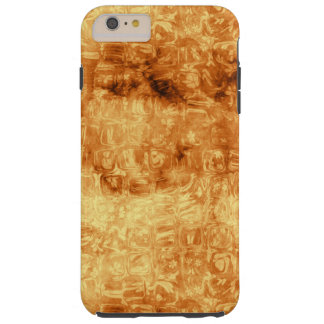 Golden Daisy Reflections Abstract Tough iPhone 6 Plus Case