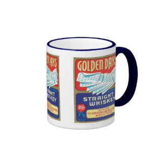 Golden Days Straight Whiskey Mugs and Steins