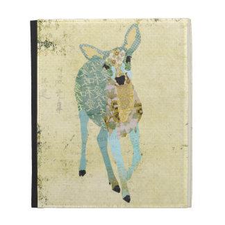 Golden Dearest Deer Caseable Case iPad Folio Cases
