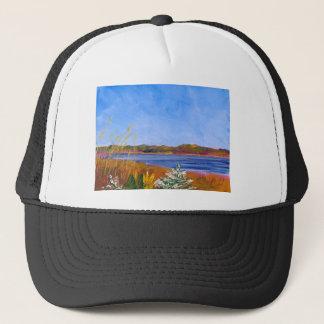 Golden Delaware River Trucker Hat