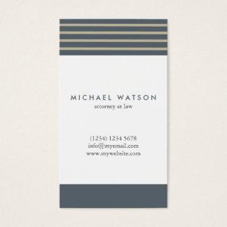 Golden Delicious congregation stripes elegant Business Card