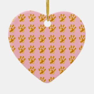 Golden Delicious Cute little paws Ceramic Ornament