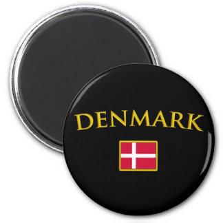 Golden Denmark Magnet