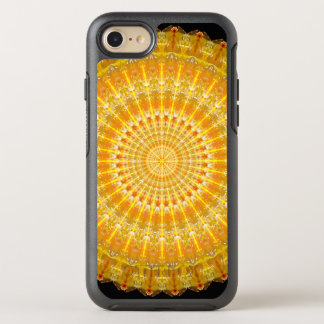 Golden Disc of Secrets Mandala OtterBox Symmetry iPhone 8/7 Case