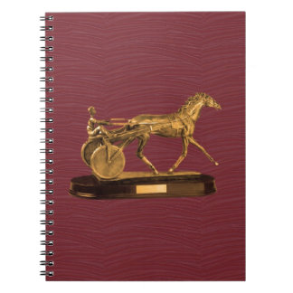 Golden  DISPLAY GIFTS : VINTAGE HORSE CHARRIOT Note Books