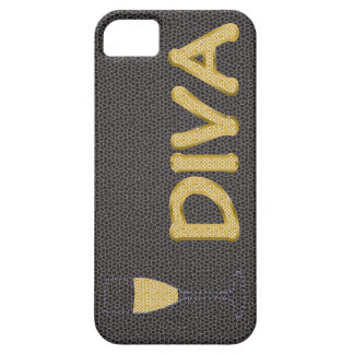 """golden DIVA and champagne """"barely there"""" case"""