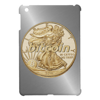 Golden Dollar Bitcoin Cryptocurrency HODL Funny iPad Mini Case
