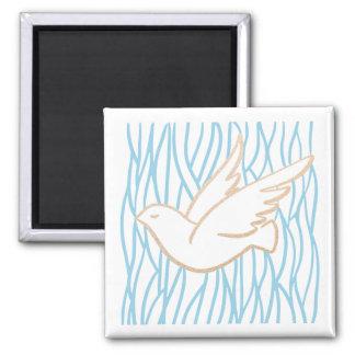 Golden Dove -  Holy Spirit Magnet