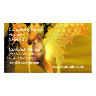 Golden Dragon  Business Cards