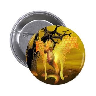 Golden Dragon Button