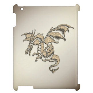 Golden Dragon Cover For The iPad 2 3 4