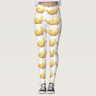 Golden Dragon  Custom Leggings
