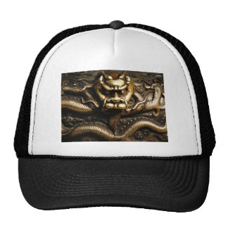 GOLDEN DRAGON MESH HAT
