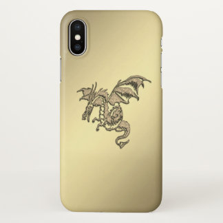 Golden Dragon iPhone X Case