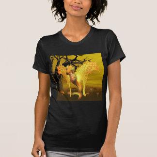 Golden Dragon Ladies T-Shirt