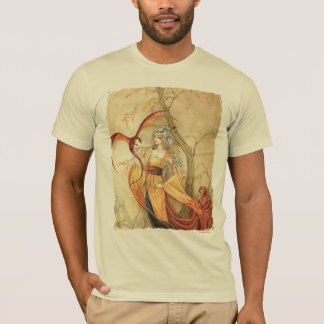 Golden Dragon Lady T-Shirt [American Apparel]