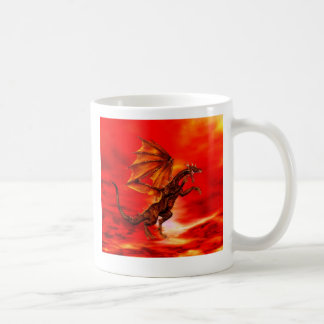 Golden Dragon Basic White Mug
